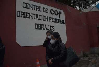 La hija de la presidenta Áñez inició la acción de libertad. Foto APG