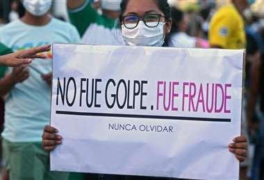 En el país se empiezan a reactivar las protestas /Foto: AFP