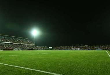 Estadio Gilberto Parada de Montero. Foto: El Deber