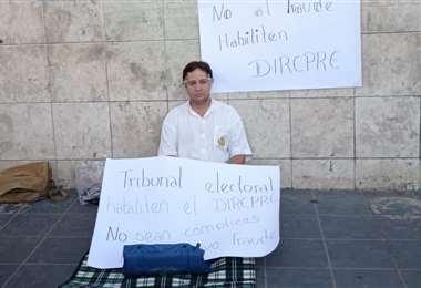 Luis Alejandro Rivero, candidato a primer concejal por UNIDOS