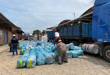 Los productos incautados por la Aduana serán subastados (Foto: Aduana regional Santa Cruz)