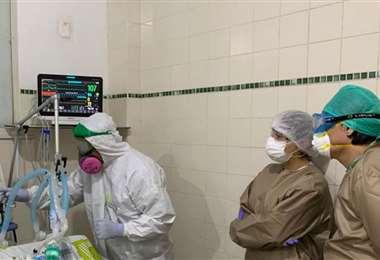 Las unidades de terapia intensiva están llenas/Foto: La Palabra