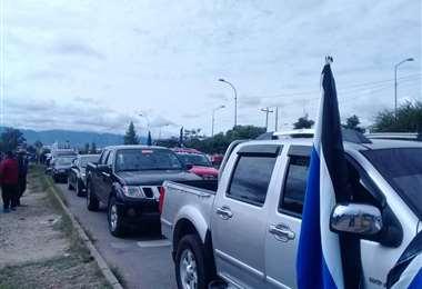 Luis Arce vuelve a Tarija para hacer campaña por el candidato del MAS a la Gobernación