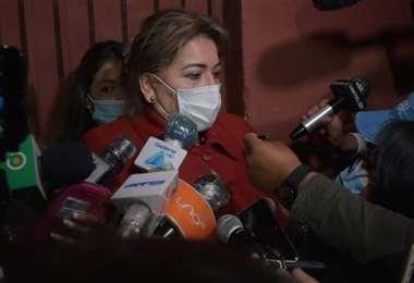 La abogada de Jeanine Áñez denunció manipulación de las normas (Foto: APG Noticias)