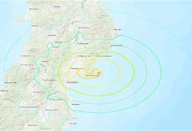 El sismo se produjo en la región de Miyagi