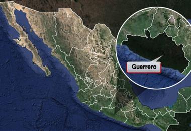 El epicentro fue en el Estado de Guerrero