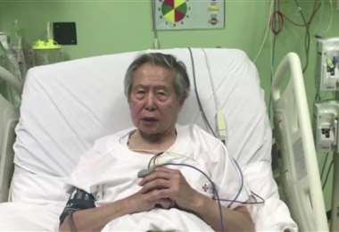 Fujimori estuvo hospitalizado desde el viernes