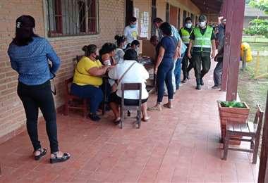 Votación en Pailón