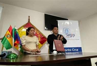 Mojica encabezará, desde Santa Cruz, el rumbo de la entidad estatal