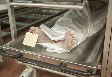 El sábado se recibió la denuncia porque la familia no lo podía enterrar
