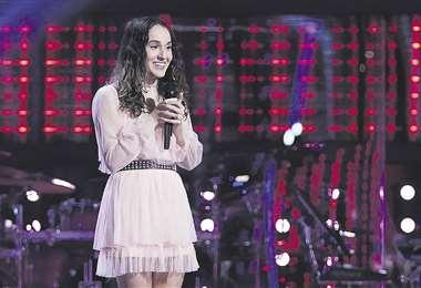 Carolina Rial, participante en The Voice
