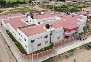 Hospital de segundo nivel en Comarapa/Foto: Gobernación