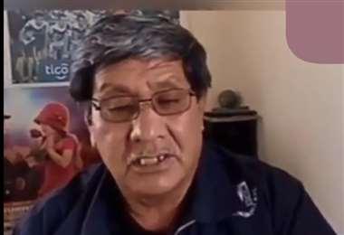 Luis Cossio se encuentra preocupado por su club. Foto: Captura de pantalla