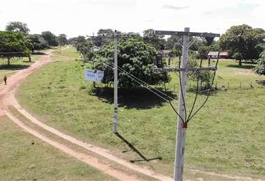 Sistema de electrificación Las Petas- Candelaria/Foto: Gobernación