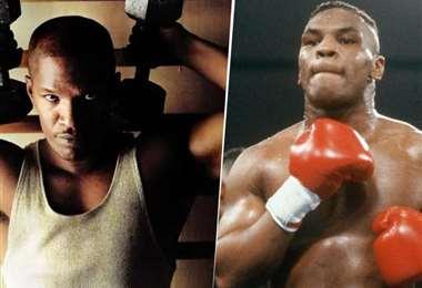 Jamie Foxx (Izquierda) hará de Mike Tyson