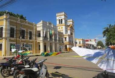 Plaza principal de Trinidad