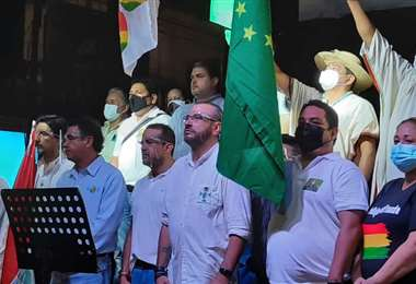 Cabildo en Trinidad convocado por el Comité Cívico de Beni