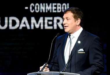 Alejandro Domínguez es presidente de la Conmebol. Foto: Internet
