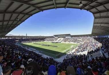 Estadio de El Alto, donde Always Ready quiere jugar la Libertadores. Foto: Internet