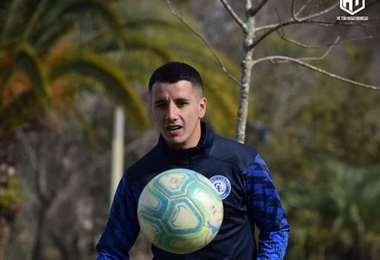 Hugo Dorrego, mediocampista uruguayo. Foto: internet