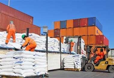 Las exportaciones nacionales subieron por el factor precio/Foto: Internet