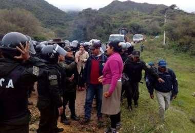 Pobladores de Tariquia rechazan proyecto petrolero/Foto: David Maygua