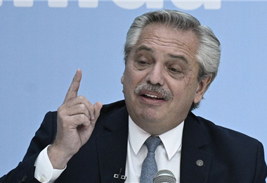 Alberto Fernández, presidente de Argentina. Foto. Internet