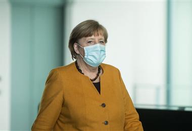 Angela Merkel, canciller de Alemania. Foto. AFP