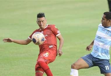 Guabirá derrotó a Blooming en su último partido. Foto: APG Noticias