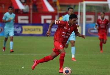Carlos Mateo Abastoflor Aguilera, joven jugador de Guabirá.