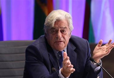 Luis Alberto Lacalle Herrera, expresidente de Uruguay. Foto. Internet