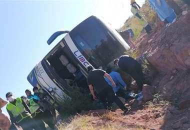 Accidente en la carretera a Tarija I El Mendeño.
