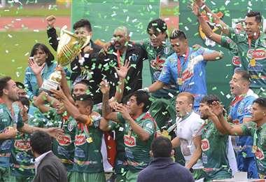 Real Tomayapo de Tarija fue campeón de la Copa Simón Bolívar 2020.