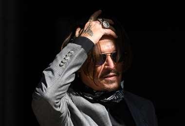El actor fue demandado en abril de 2018. Foto AFP