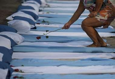 El coronavirus golpea Brasil/Foto: AFP