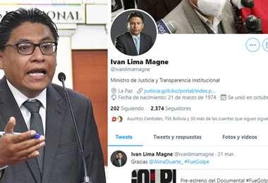 El último trino del ministro Lima es del 21 de marzo