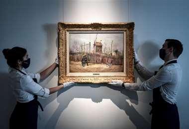 """""""Escena callejera en Montmartre"""" fue pintada por Van Gogh en 1887"""