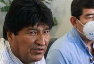 Hoy llegó Morales a Cobija y estará por dos días (Foto: RRSS)