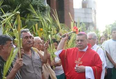 Iglesia adapta las celebraciones a las normas de bioseguridad. Foto: Archivo