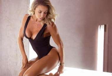 Laura Donoso es fanática de los ejercicios