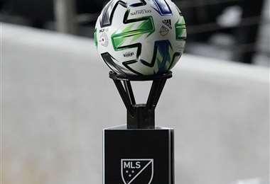 El balón oficial del campeonato de Estados Unidos. Foto: AFP