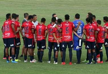 El partido entre Real y Wilstermann fue suspendido el 9 de este mes. Foto: Jorge Gutiérrez