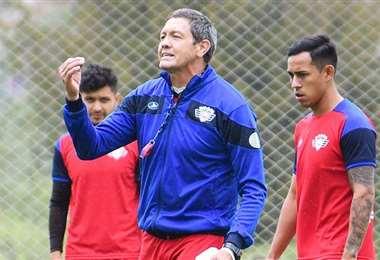 Mauricio Soria, entrenador de Wilstermann. Foto: Los Tiempos