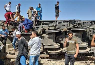 Autoridades iniciaron las investigaciones del siniestro. Foto AFP