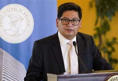 El ministro de Economía, Marcelo Montenegro, es optimista con las cifras alcanzadas