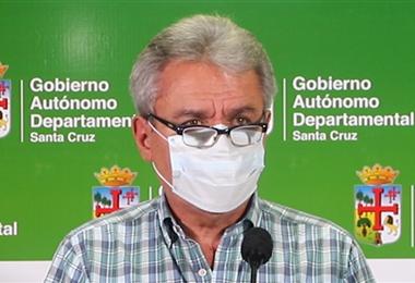 Luis Alpire, secretario de Desarrollo Productivo. Foto. Prensa Gobernación