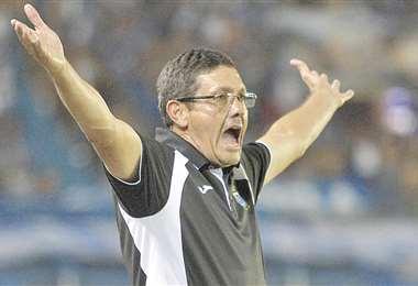 Mauricio Soria, entrenador de Wilstermann. Foto: Internet