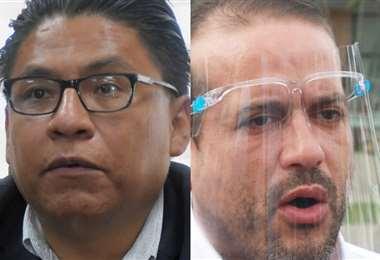 Los actores de la polémica