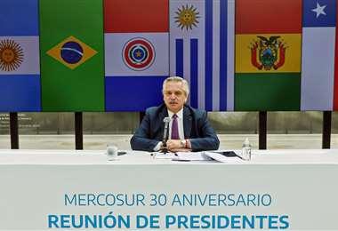 Reunión de Mercosur/Foto: AFP