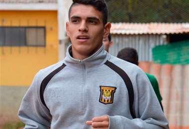 Richet Gómez, mediocampista de The Strongest. Foto: internet